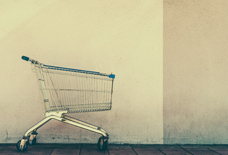 37537196 - shopping cart - vintage effect style pictures